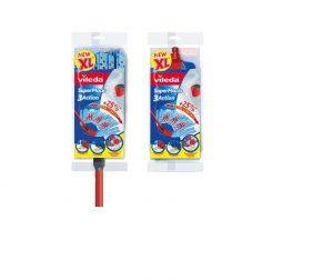 Vileda SuperMocio 3 Action XL Mop and Free Refill