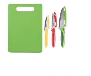 Zyliss Knife Set x 3 + Board
