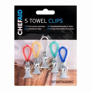 ChefAid Towel Clips x5