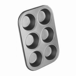 ChefAid Muffin Tray 6 Hole