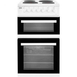 Beko EDP503W 50cm Electric Double Oven with grill Cooker – White