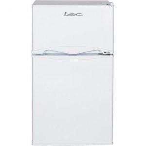GDHA ~ Lec T50084W 50cm Undercounter Auto Defrost Fridge Freezer