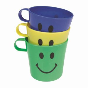 ChefAid Smiley Face Cups (3 pack)