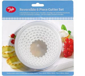 Tala Reversible 6 Piece Cutter Set