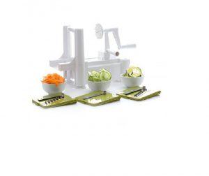Dexam Spiralizer Spiral Slicer with 3 Vegetable Blades