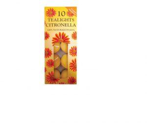 Prices Citronella Tealights x 10