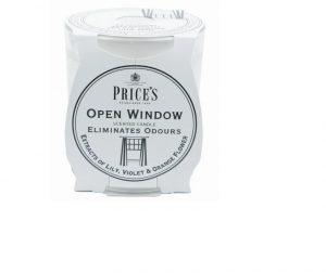 Prices Scented Candle Jar Open Window