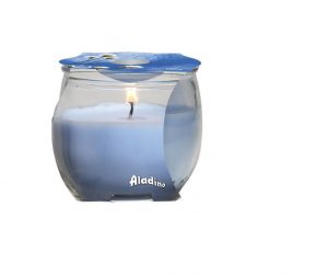 Prices Scented Candle Jar- Cotton Flowers (Small)