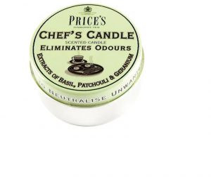 Prices Scented Candle Tin Chefs