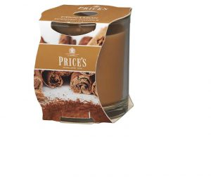 Prices Scented Candle Jar- Cinnamon