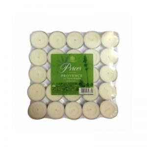 Prices Scented Tealights- Provence x25