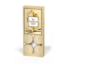 Prices Scented Tealights- Vanilla x10
