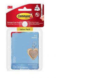 Command 18 Mini Hooks, Value pack