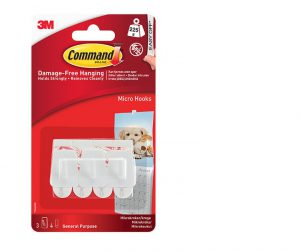 Command Micro Hooks x3