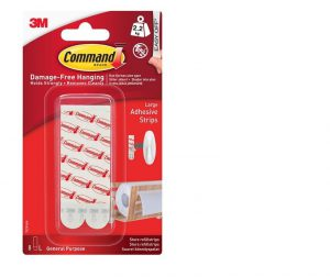 Command Large Mounting/Replacement Strips 8pk