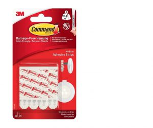 Command Medium Adhesive Mounting/Replacement Strips 10pk