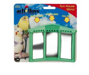 JW Bird Toy Fun House Mirror