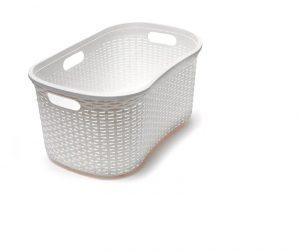 Addis Calico Rattan Laundry Basket