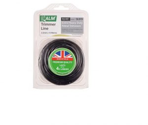 ALM Manufacturing Trim Line 3.5mm x 15m Black SL019