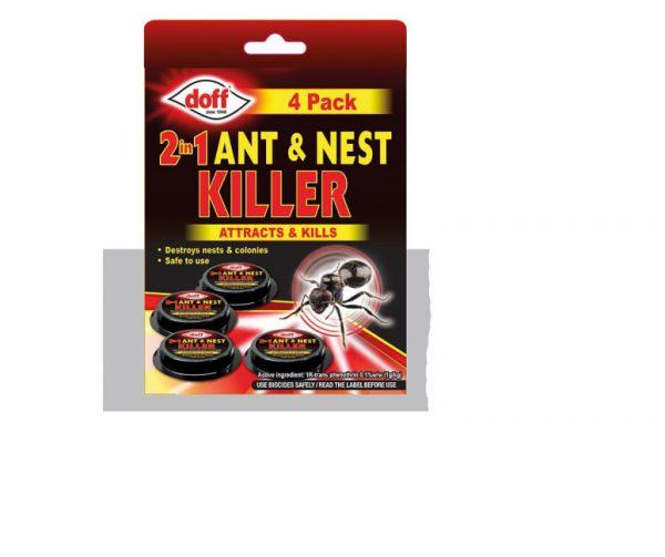 Doff ant and nest killer