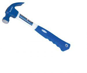 BlueSpot Claw Hammer Fibreglass Shaft 570g (20oz)