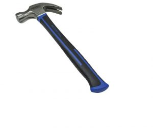 Faithfull Claw Hammer Fibreglass Handle 567g (20oz)