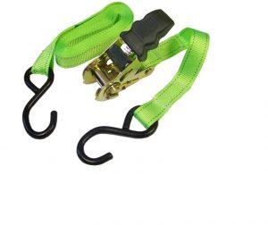 Faithfull Ratchet Tie-Downs S-Hook 5m x 25mm