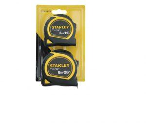 Stanley Tylon™ Pocket Tapes 5m/16ft + 8m/26ft (Twin Pack)