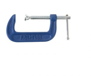 Faithfull Medium-Duty G-Clamp 50mm (2in)