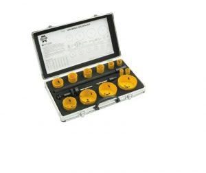 Universal Varipitch Holesaw Kit, 16 Piece 16-76mm