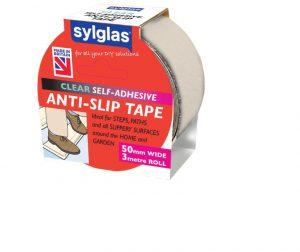 Sylglas Anti-Slip Tape 50mm x 3m Clear