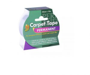 Duck Permanent Carpet Tape 50mm x 10m