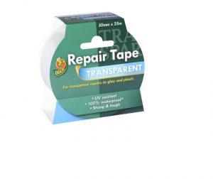 Duck Transparent Repair Tape 50mm x 25m