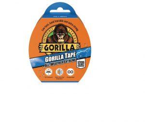 Gorilla All Weather Extreme Tape 11m Black