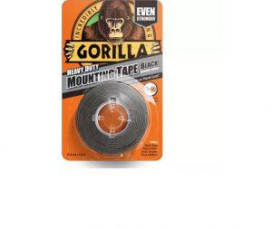 Gorilla Heavy Duty Mounting Tape Black