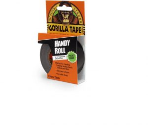 Gorilla Tape Handy Roll Black 9m