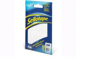 Sellotape Sticky Fix Pads x 140