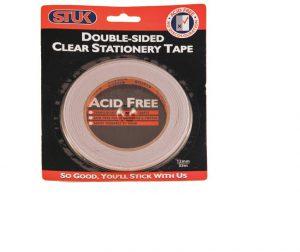 Stuk Double Sided Tape 12mm x 33m