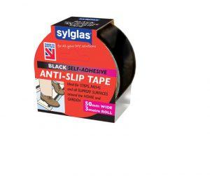 Sylglas Anti-Slip Tape Black 50mm x 3m