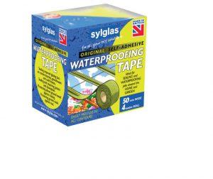Sylglas Waterproofing Tape 50mm/2in x 4m Roll