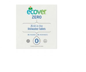 Ecover All In 1 Zero Dishwasher Tablets x 25
