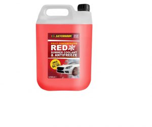 SilverHook Concentrated Red Antifreeze O.A.T. 4.5 litre