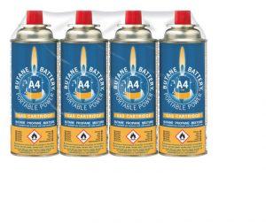 BrightSpark A4 Butane Gas Refill 220g (1 can)
