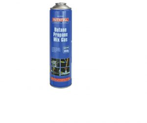 Faithfull Butane Propane Gas Cartridge 350g
