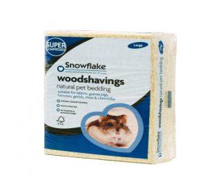 Snowflake Woodshavings 11x40x29cm Large