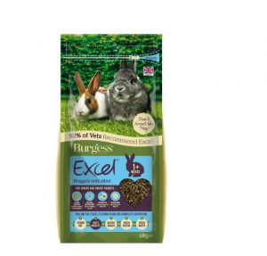 Burgess Excel Junior Dwarf Rabbit Nuggets with Mint