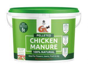 Pelleted Poultry Manure 8kg