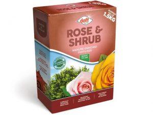 Doff Rose & Shrub Fertiliser 1.5kg