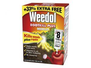 Weedol Rootkill Plus 6 Tubes + 2 Free of Charge