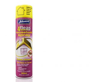 Johnsons 4 Fleas IGR Household Spray 600ml